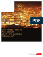 ABB Low Voltage Products 2014 Short Form Catalogue