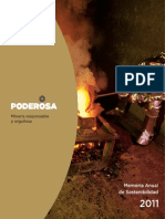 Memoria Anual Poderosa 2011 Version Esp