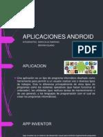 Aplicaciones Android