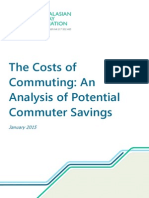 REPORT Commuter Costs Potential Savings Report