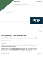 18-01-15 Trascendidos y Rumores (09:00 h) ‹ ADN – Agencia Digital de Noticias Sureste