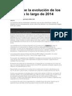 Cómo Fue La Evolución de Los Costos a Lo Largo de 2014