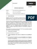 064-12 - Pre - Assis Servicios Grales Sac - Aplicacion de Penalidades