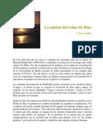 La Misión Del Reino de Dios (René Padilla)
