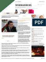 19-01-15 Legisladores Del PRI y Del PAN Llaman a Garantizar Elecciones