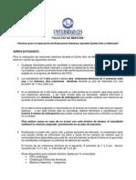Normas Rotaciones Electivas 2015-01