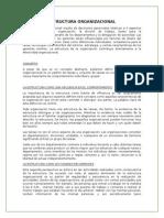 Estructura Organizacional - RI