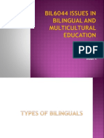201ISSUES IN BILINGUAL AND MULTICULTURAL EDUCATION31013061032bil6044 Issues in Bilingual and Multicultural Education (Week 4) Sem 1 2013 & 2014