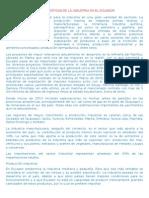 Industria en El Ecuador