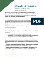 eBook Adsense Optimi EBOOK ADSENSE OPTIMIZER V1.zer v1