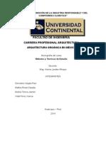 Arquitectura Organica en Mexico - Monografia