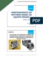 Mantenimiento de motores diesel de equipo pesado