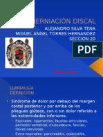 Lumbalgia y Hernia de Disco Lumbar