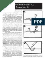 10 Watt PLL New Version Assembly Instructions