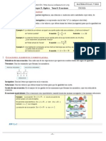 Ecuaciones Con Explicaciones y Ejercicios Resueltos