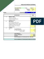 costos de perforacion