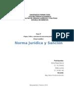 Ensayo Analítico Norma Jurídica y Sanción (1)