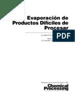 Evaporador de Productos Dificiles