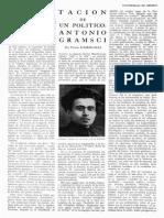 Gramsci por Víctor Flores Olea