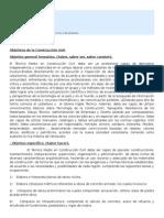 Objetivos y Fases de La Construccion Civil