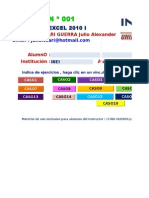 Evaluado N º 001-2012