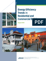 Energy Efficiency Trends in Residential and Commercial Buildings