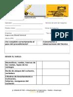 Check List de Inspeccion Visual General Cargador Frontal