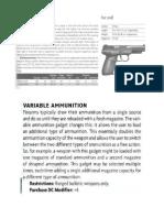 Dredd Gun Design