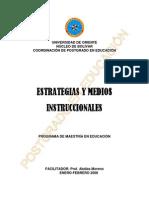Estrategias y Medios Instruccionales