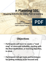 Mapping Activities for a Clear Path to Learning