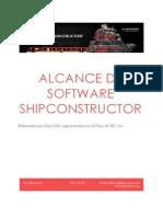 Alcance de Software Shipconstructor