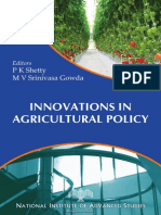 Innovations in Agricultural Policy