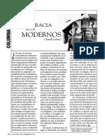 Lefort, C. - La Democracia de Los Modernos CL