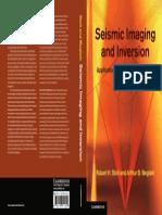 Seismic Imaging and Inversion - By Robert H. Stolt & Arthur B Weglein