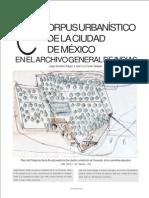 Corpus Urbanístico De La Cuidad De México En El Archivo General De Las Indias