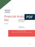 Financial Analysis - Apple