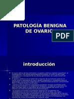 Patologia Benigna de Ovario