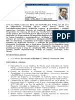 CV Jesus Cariel (2014)