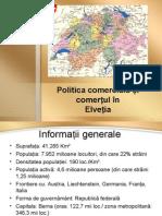 Politica Comerciala Si Comertul in Elvetia