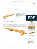 European Single Girder Overhead Crane_European Single Girder Overhead Crane
