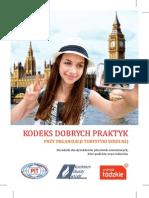 Kodeks Dobrych Praktyk Turystyki Szkolnej
