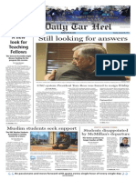 The Daily Tar Heel for Jan. 20, 2015
