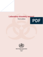 WHO Biosafety Manual