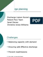 Training Exercises & Presentations - Presentations - Discharge Planning