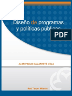 Diseño de Programas y Politicas Publicas