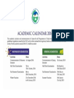 Academic Calendarhjjgj 2014-15