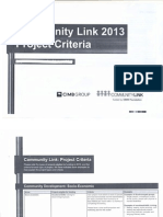 community link criteria