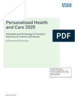Personalized Health and Care 2020_NHS_report