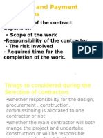 Post Contract Management