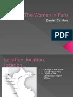 The Women in Peru